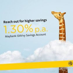 [Maybank ATM] Reach out for higher interest of up to 1.