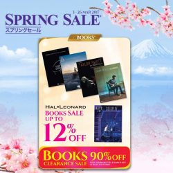 [YAMAHA MUSIC SQUARE] Yamaha Spring Sale is now on!