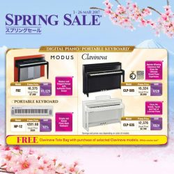 [YAMAHA MUSIC SQUARE] Receive a FREE Clavinova Tote Bag with purchase of selected Clavinova models.