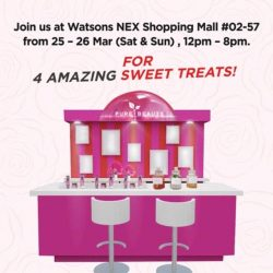[Watsons Singapore] Didn't manage to make it for our Pure Beauty Urban Shield Pop-Up Beauty Bar earlier?