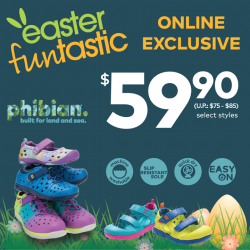 [Stride Rite/Petit Bateau] Usher the Easter holiday with Stride Rite Made2Play® Phibian ONLINE EXCLUSIVE OFFER!