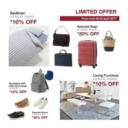 [MUJI Singapore] Get a great deal of your favourite items this weekend.