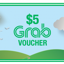 [Changi City Point] Your next Grab ride just got cheaper!