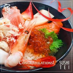 [Sushi Tei] Congratulations to @mervyn6 for being our final winner!