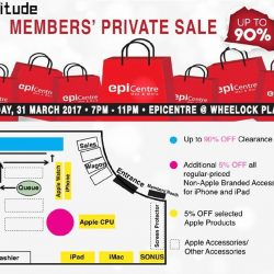 [EpiCentre Singapore] Are y'all gear up and ready for the Epitude Members' Private Sale tomorrow?