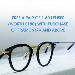[Better Vision] Get your perfect spectacle, Enjoy free one pair of lenses with purchase Frame $179 !