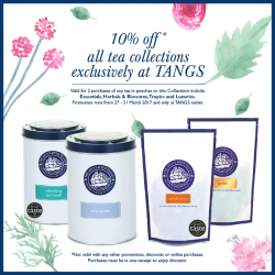 [The 1872 Clipper Tea Co.] Mix and match any 2 flavours in pouches or tins from our collections: Essentials, Herbals & Blossoms, Tropics and Luxuries.