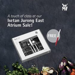 [WMF] Cook like a master and dine like royalty with your pick of cutlery at the Isetan Jurong East Atrium Sale,