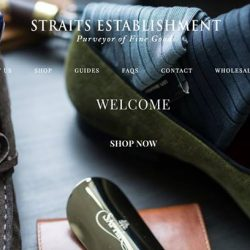 [STRAITS ESTABLISHMENT] Enjoy exclusive bundles, new product launches and savings when you shop direct with us.