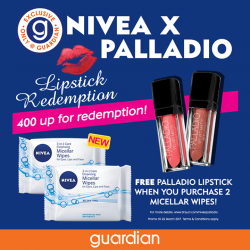 [Guardian] With the help of micelles, the all-new NIVEA Micellar Wipes effectively draws out dirt, makeup and excess sebum to