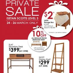 [Isetan] A sale is always a reason to get something new to furnish your home.