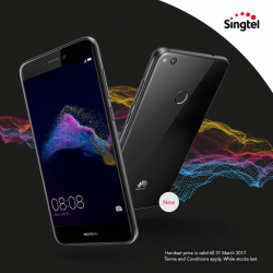 [Singtel] The stunning Huawei Nova Lite now available at $0 on Combo 2 mobile plan.