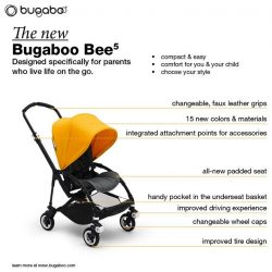 [Mothercare] The new Bugaboo Bee5 has a lot to offer more than its good looks!