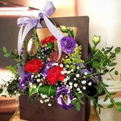 [Blossom Floral Design] Flower box promotion @ $40 For your love one💜 23.