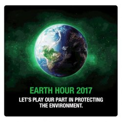 [Cold Storage] In this year's earth hour, let's all play our part in protecting the environment!