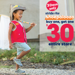 [Stride Rite/Petit Bateau] Stride Rite SHOE-PALOOZA FLASH SALE!