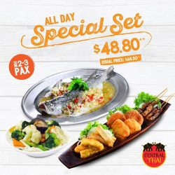 [Central Thai] Enjoy a sumptuous meal with great savings!
