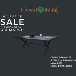 [Natural Living] Have a glimpse at our products on HALF PRICE!