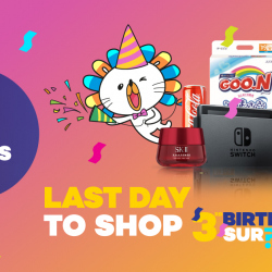 [Lazada Singapore] Only 9 hours left to shop at our Birthday Sale?