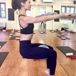 [Lululemon Athletica] Ally, a lively barre instructor from WeBarre was a professional ballerina, training for almost all her life and performing for