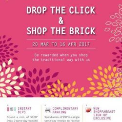 [Orchard Central] Don't forget to be rewarded when you shop at Orchard Central today!