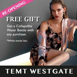 [TEMT Singapore] Because we miss you, we're giving away a FREE gift with any purchase to celebrate our re-opening.