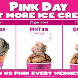 [Baskin Robbins] Now you've more choice on Pink Day!