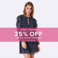 [Forever New] Take A Further 25% Off Sale & Outlet Dresses*!