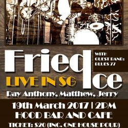 [Hood Bar and Cafe] Fans of Fried Ice and Blues 77, keep this date free!
