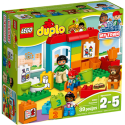 [Mothercare] Little builders can now construct their ideal nursery school with the Duplo Pre School play set from Lego!