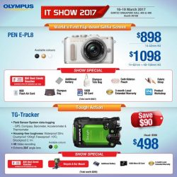 [Best Denki] Looking for unbeatable Olympus Camera deals at IT Show?
