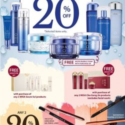 [Missha Singapore] Whether you need more hydrating or anti-aging products for your skin or a pop of color for your eye