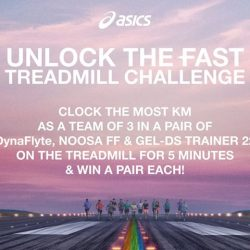 [ASICS] Do you have what it takes to UNLOCK THE FAST as a team of 3?
