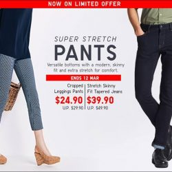 [Uniqlo Singapore] Get a leg up on your pants game.