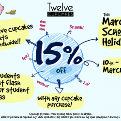 [Twelve Cupcakes] School's Out!