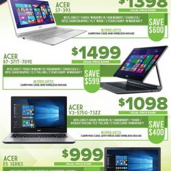 [Newstead Technologies] Visit booth 311 & 8143 @ IT Show to find best savings and attractive free gifts on latest Acer laptops & computers, 16-