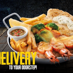 [The Manhattan FISH MARKET Singapore] Enjoy your favorite Mediterranean Baked Fish and more today with FREE DELIVERY!
