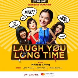 [SISTIC Singapore] For the first time ever in Singapore, four international powerhouses of comedy join forces in a very special and exclusive