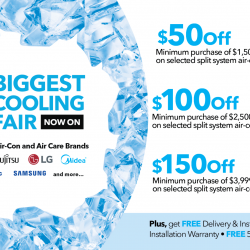 [Courts] The BIGGEST Cooling Fair is back!