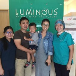 [Luminous Dental Clinic] It was a great pleasure to have 2 year old Yilin and his daddy and mummy with us in the