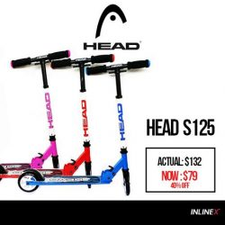 [INLINEX] Exclusive offer:  HEAD S125 is on 40% discount off for a limited time period only.
