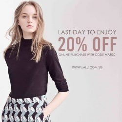 [LALU] Last day to shop!