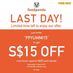[Yummi House] Just in case you missed our offer, today is the last day!