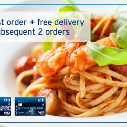 [Citibank ATM] Looking for food delivery to your destination?