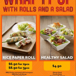 [The Orange Lantern Noodle Bar] Looking for healthy food that fits the budget?