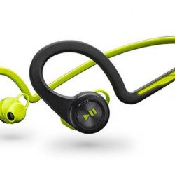 [Nübox] Plantronics BackBeat Fit wireless headphones have solid sound and useful touch control sound is your perfect fitness companion.