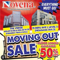 [Novena] Moving sale at our Defu showroom is still ongoing!