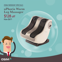 [OSIM FOCUS] Sit back, relax and destress with these OSIM favourites!