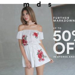 [MDSCollections] FURTHER MARKDOWNS | Up to 50% off in-stores & online.