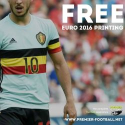 [Premier Football Singapore] FREE printing for all EURO 2016 Jerseys.
